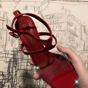 Gianvito Rossi Red heels new!